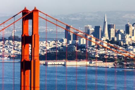 The Golden Gate Bridge San Francisco